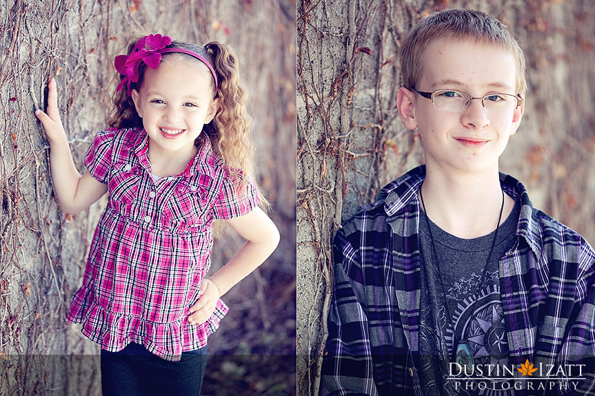 Utah Urban Vine Wall Family Photography Session Layton by Photographer Dustin Izatt