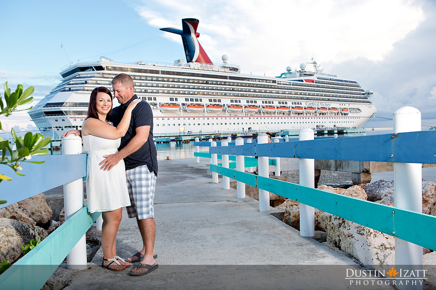 Jamaica Engagement Photography Ochos Rios Beach Session Cruise Ship
