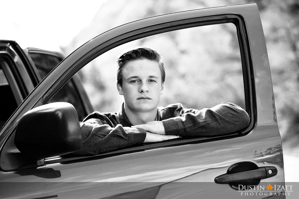 Utah Male Senior Photography Football Player