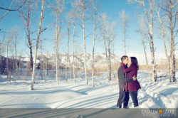 snow basin engagements utah photographer